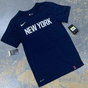 Nike X NBA New York Knicks Dri Fit AH1228-419 Sm